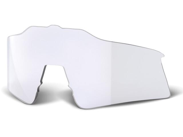 100% Speedcraft Udskiftningslinse Lille, gennemsigtig